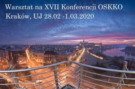 Warsztat na XVII Konferencji OSKKO