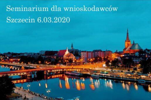 Zapisy na seminarium Szczecin