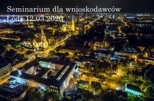 Zapisy na seminarium Łódź