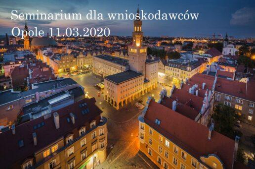Zapisy na seminarium Opole